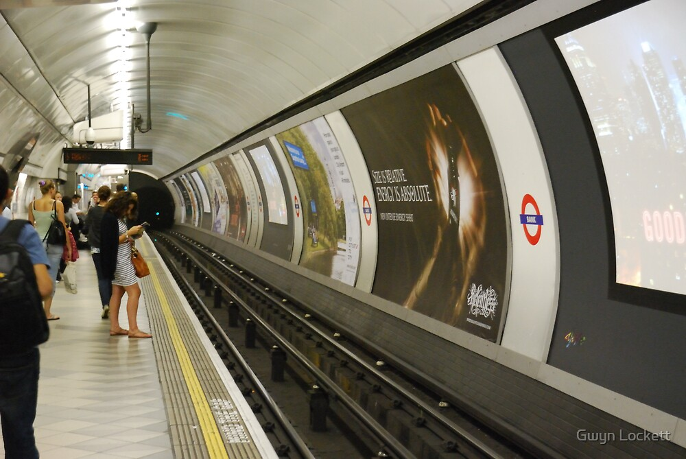 Going Underground by Gwyn Lockett