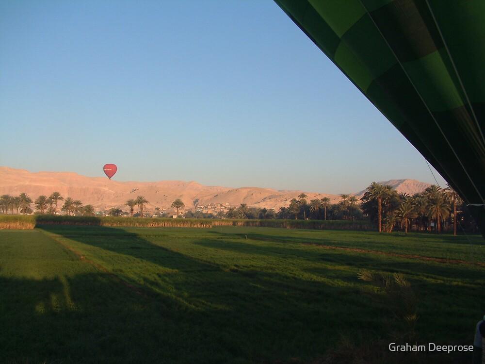 Follow that balloon! by Graham Deeprose