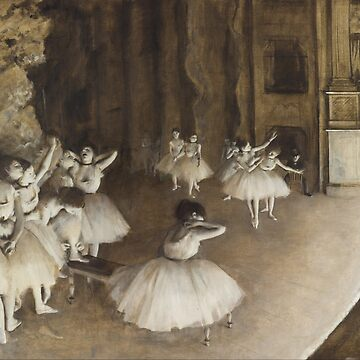 Rehearsal on Stage - Edgar Degas by themasters