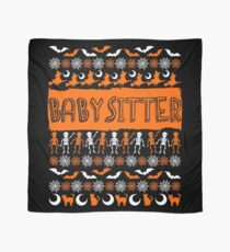 Cool Babysitter Ugly Halloween Gift t-shirt Scarf