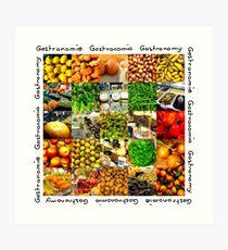 Gastronomy Art Print