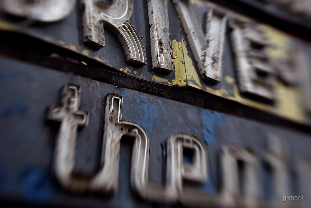 drive-in sign by g-mark