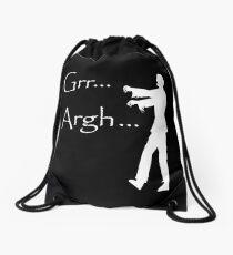 Grr Argh Drawstring Bag