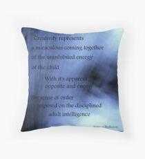 Creativity Represents... Throw Pillow