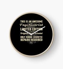 Psychiatrist Funny Job Gift Clock