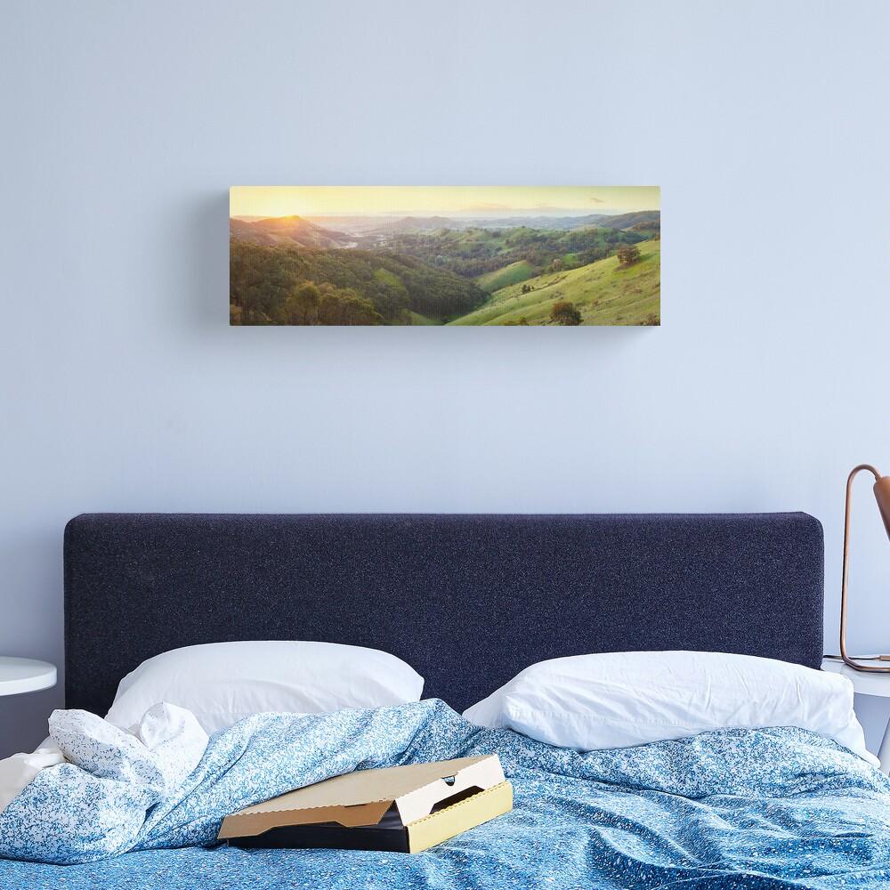 Valley of a Thousand Hills, Murchison Gap, Victoria, Australia Canvas Print