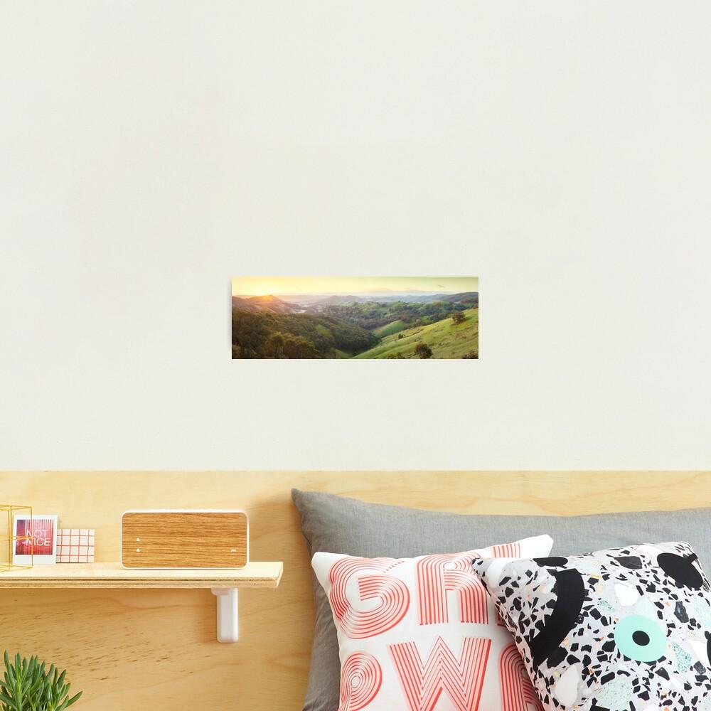 Valley of a Thousand Hills, Murchison Gap, Victoria, Australia Photographic Print