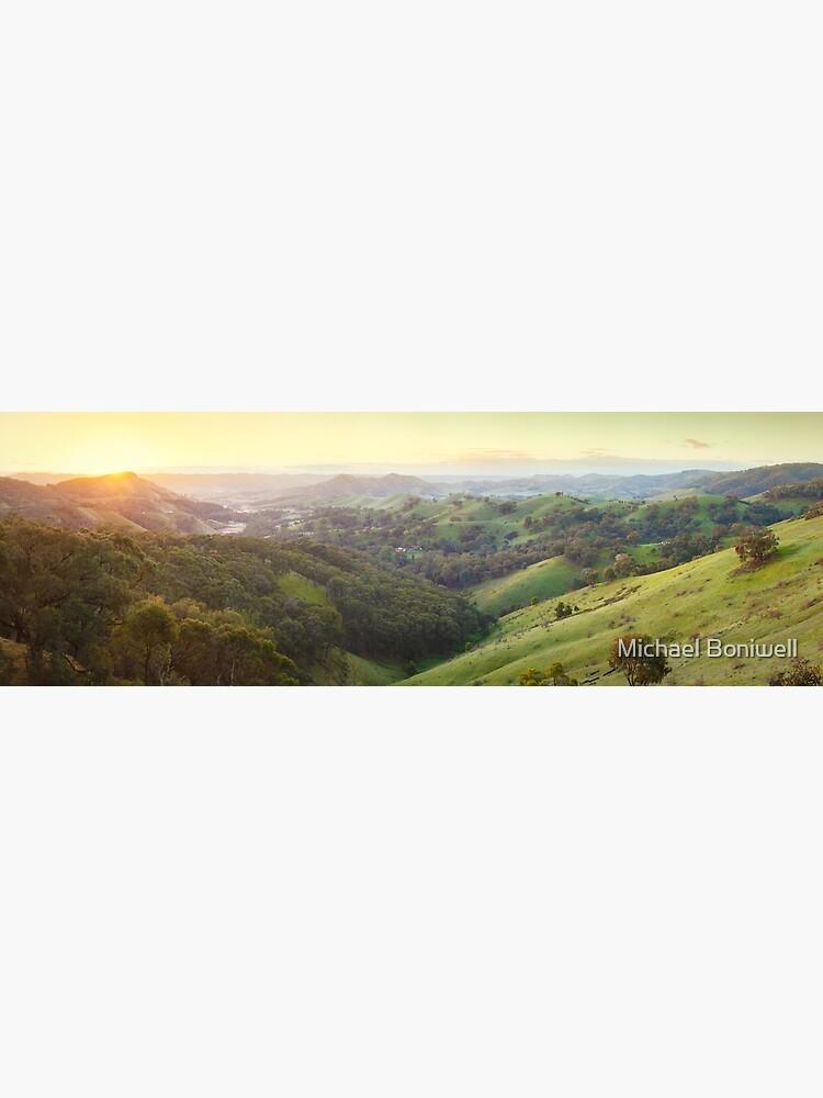 Valley of a Thousand Hills, Murchison Gap, Victoria, Australia by Chockstone
