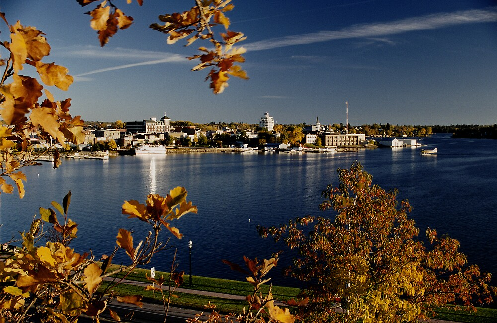 """""""  Town of Kenora Harbourfront  """" by fortner"""