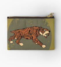 Saber-toothed cat mandala Studio Pouch