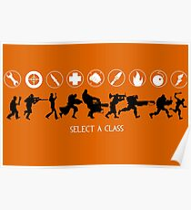 Select a Class Poster