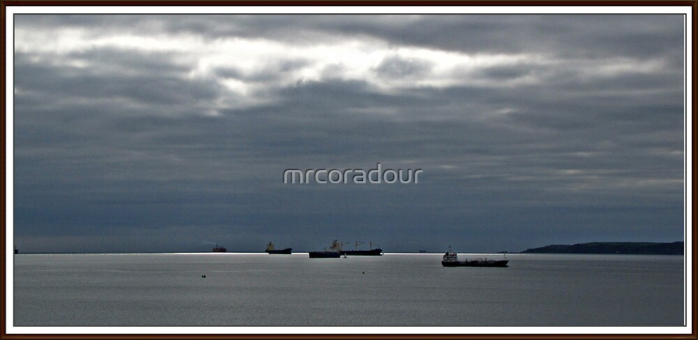 """"""" From here, At this time(2000hrs 62 yrs ago Falmouth"""" by Malcolm Chant"""