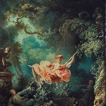The Swing Painting - Jean-Honoré Fragonard by themasters