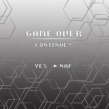 Game Over Duvet by Chibiuske