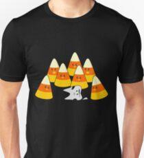 Candy Corn Mishap Unisex T-Shirt