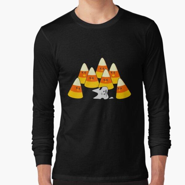 Candy Corn Mishap Long Sleeve T-Shirt