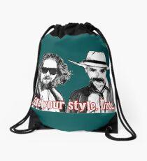 Big lebowski Drawstring Bag