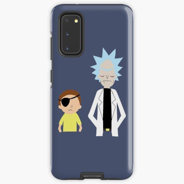 Evil Rick and Morty [PLAIN] Samsung Galaxy Tough Case
