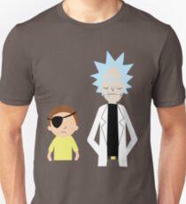 Evil Rick and Morty [PLAIN] Slim Fit T-Shirt