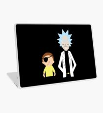 Evil Rick and Morty [PLAIN] Laptop Skin