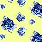 blue rose cloth by Anthropolog