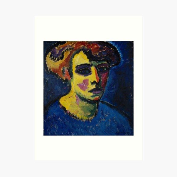 Frauenkopf - Alexej von Jawlensky Kunstdruck