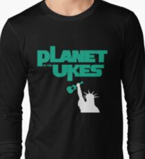 Planet Of The Ukes Long Sleeve T-Shirt