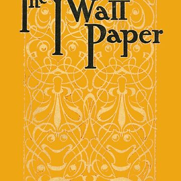 The Yellow Wallpaper Charlotte Perkins Stetson First Edition Cover by buythebook86