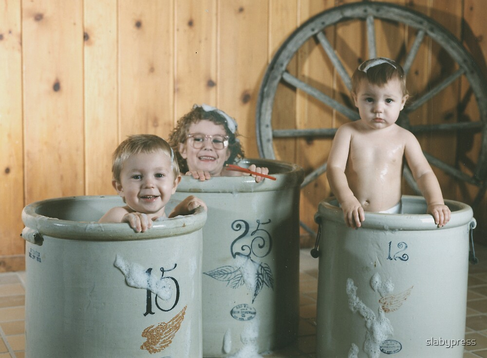 Kids in Crocks by slabypress