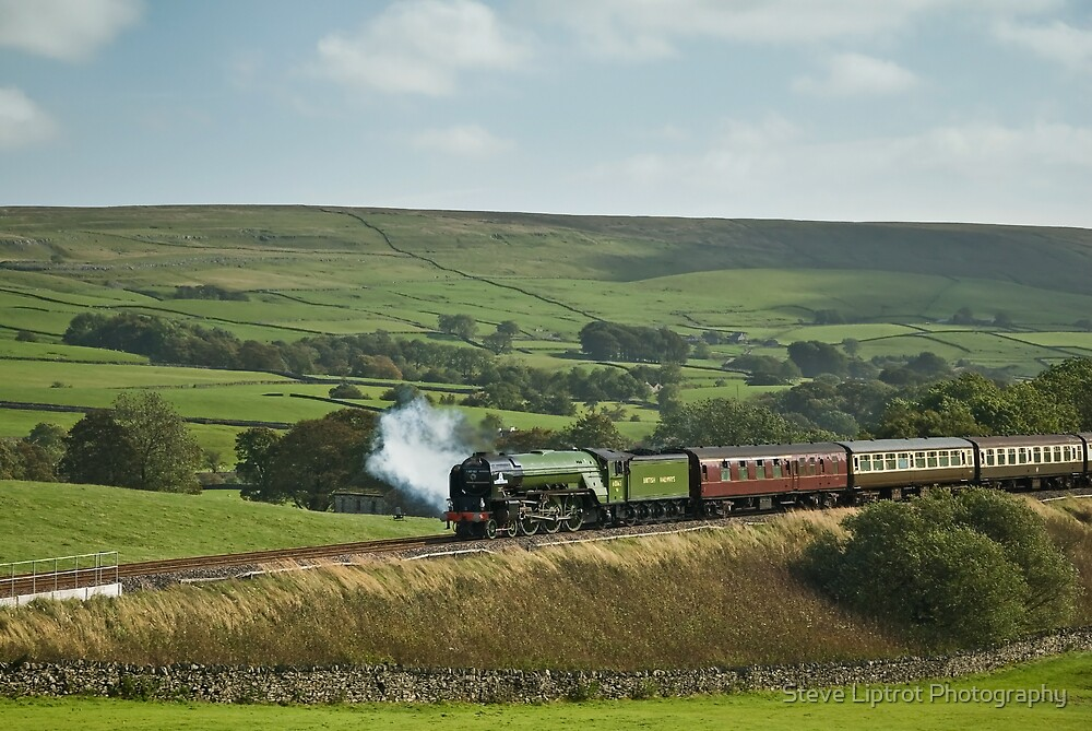'Tornado' on The Settle & Carlisle Railway. by Stephen Liptrot