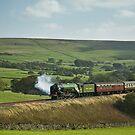 'Tornado' on The Settle & Carlisle Railway. by Steve  Liptrot