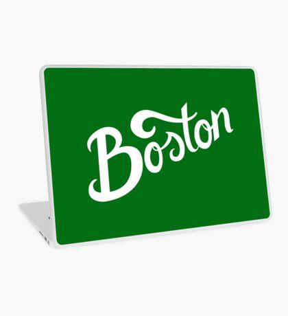 Boston Hand Lettering Laptop Skin
