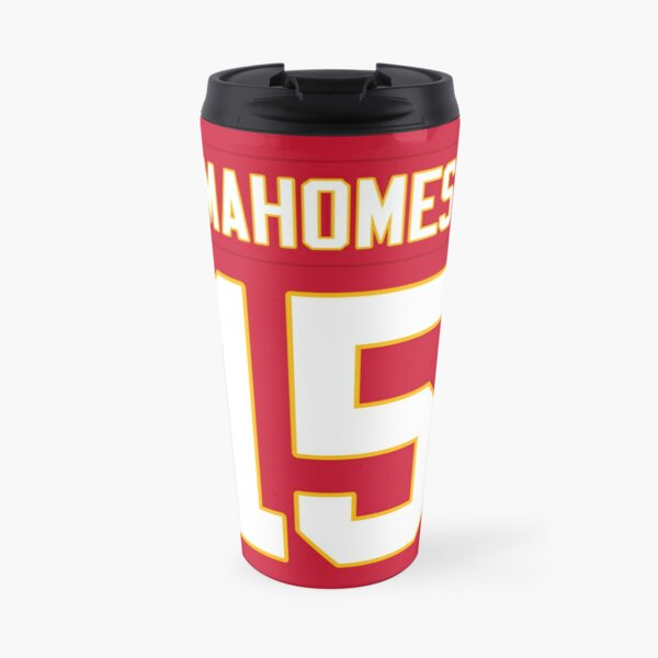 Patrick Mahomes Chiefs Travel Mug