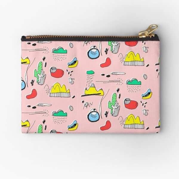 Cactus Mountain Zipper Pouch