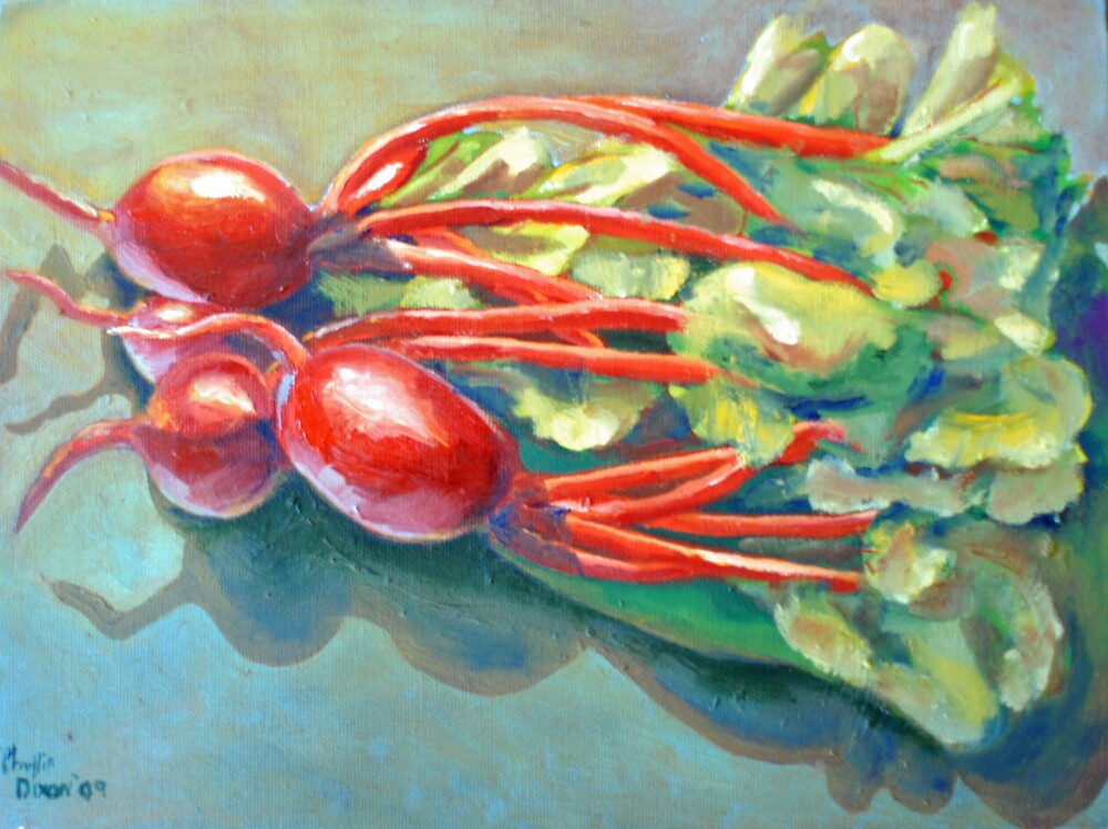 Beets - Summer Harvest by Phyllis Dixon