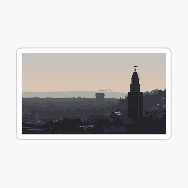Cork at Dusk Sticker