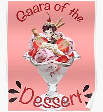 Gaara of the Dessert Poster