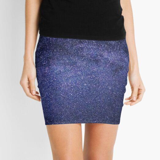 night sky-milky way Mini Skirt