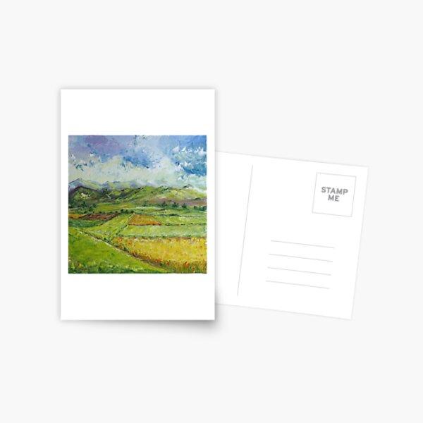 Alpine Landscape Postkarte