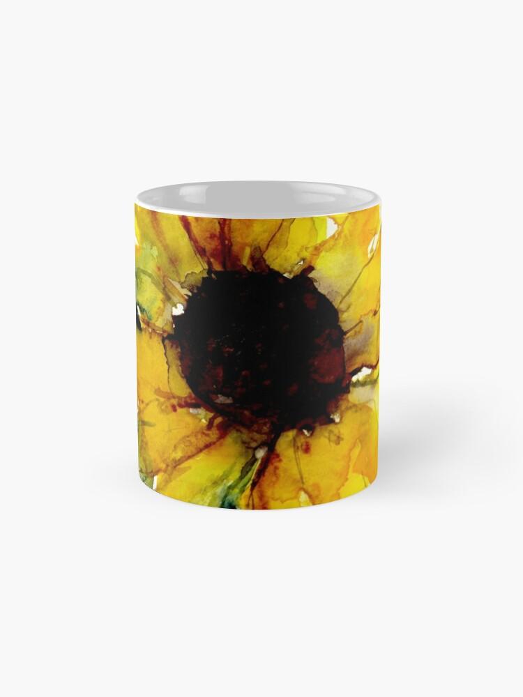 Alternative Ansicht von Sonnenblume Tasse (Standard)
