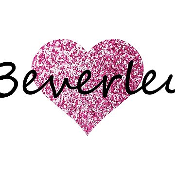 Beverley Pink Heart by Obercostyle
