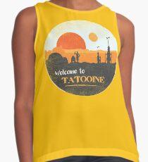 Willkommen auf Tatooine Kontrast Top