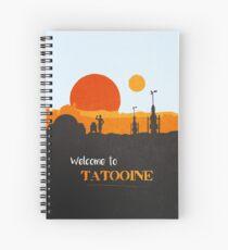 Willkommen auf Tatooine Spiralblock
