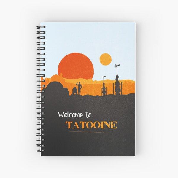 Willkommen in Tatooine Spiralblock