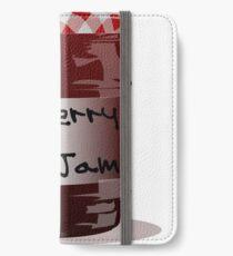 Red Jam iPhone Wallet/Case/Skin