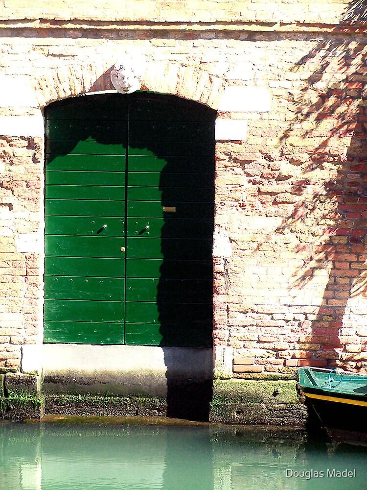 green door by Douglas Madel