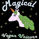 Magical Vegan Unicorn by veryveganval