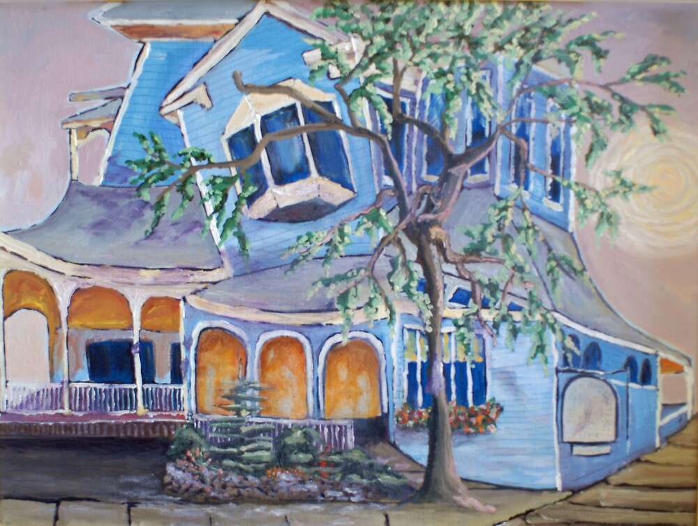 Springwater Inn, Saratoga Springs, NY by Phyllis Dixon