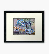 Springwater Inn, Saratoga Springs, NY Framed Print