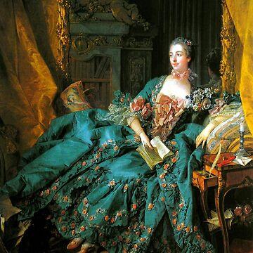 Madame de Pompadour-Francois Boucher by LexBauer